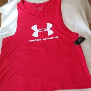 Under Armour Loose Graphic Tank Top - 2XL